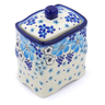 4-inch Stoneware Jar with Lid - Polmedia Polish Pottery H1381J