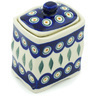 4-inch Stoneware Jar with Lid - Polmedia Polish Pottery H3219H