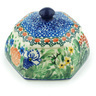 4-inch Stoneware Jar with Lid - Polmedia Polish Pottery H4440H