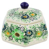 4-inch Stoneware Jar with Lid - Polmedia Polish Pottery H7340J