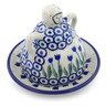 4-inch Stoneware Mini Cheese Lady - Polmedia Polish Pottery H0411J