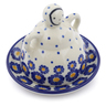 4-inch Stoneware Mini Cheese Lady - Polmedia Polish Pottery H2840J