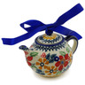 4-inch Stoneware Mini Tea Pot - Polmedia Polish Pottery H2694K
