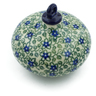 4-inch Stoneware Ornament Christmas Ball - Polmedia Polish Pottery H2992J