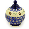 4-inch Stoneware Ornament Christmas Ball - Polmedia Polish Pottery H5964D