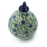 4-inch Stoneware Ornament Christmas Ball - Polmedia Polish Pottery H7548I