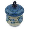 4-inch Stoneware Ornament Mushroom - Polmedia Polish Pottery H4108I