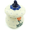 4-inch Stoneware Ornament Mushroom - Polmedia Polish Pottery H5417H