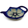 4-inch Stoneware Tea Bag or Lemon Plate - Polmedia Polish Pottery H0037K