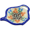 4-inch Stoneware Tea Bag or Lemon Plate - Polmedia Polish Pottery H0785F