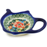 4-inch Stoneware Tea Bag or Lemon Plate - Polmedia Polish Pottery H4245K