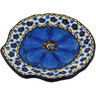 4-inch Stoneware Tea Bag or Lemon Plate - Polmedia Polish Pottery H5107G