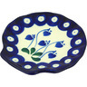 4-inch Stoneware Tea Bag or Lemon Plate - Polmedia Polish Pottery H5751G