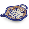 4-inch Stoneware Tea Bag or Lemon Plate - Polmedia Polish Pottery H8749E
