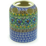 4-inch Stoneware Toothbrush Holder - Polmedia Polish Pottery H9657E