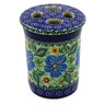 4-inch Stoneware Toothbrush Holder - Polmedia Polish Pottery H9730B