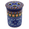 4-inch Stoneware Toothbrush Holder - Polmedia Polish Pottery H9854B