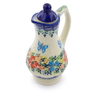 4 oz Stoneware Pitcher with Lid - Polmedia Polish Pottery H2931J