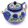 40 oz Stoneware Tea or Coffee Pot - Polmedia Polish Pottery H0364G