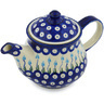 40 oz Stoneware Tea or Coffee Pot - Polmedia Polish Pottery H0765H