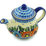 40 oz Stoneware Tea or Coffee Pot - Polmedia Polish Pottery H0801H