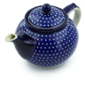 40 oz Stoneware Tea or Coffee Pot - Polmedia Polish Pottery H2548B