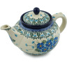 40 oz Stoneware Tea or Coffee Pot - Polmedia Polish Pottery H2866I