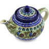 40 oz Stoneware Tea or Coffee Pot - Polmedia Polish Pottery H3205G