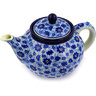 40 oz Stoneware Tea or Coffee Pot - Polmedia Polish Pottery H4264D
