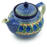 40 oz Stoneware Tea or Coffee Pot - Polmedia Polish Pottery H7108A