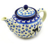 40 oz Stoneware Tea or Coffee Pot - Polmedia Polish Pottery H7994E