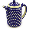 42 oz Stoneware Tea or Coffee Pot - Polmedia Polish Pottery H3086D