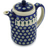 42 oz Stoneware Tea or Coffee Pot - Polmedia Polish Pottery H3123H