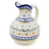 44 oz Stoneware Pitcher - Polmedia Polish Pottery H0413K