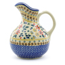 44 oz Stoneware Pitcher - Polmedia Polish Pottery H3148J