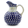 44 oz Stoneware Pitcher - Polmedia Polish Pottery H3189J