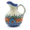 44 oz Stoneware Pitcher - Polmedia Polish Pottery H3190J