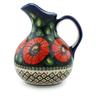 44 oz Stoneware Pitcher - Polmedia Polish Pottery H5369I