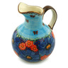 44 oz Stoneware Pitcher - Polmedia Polish Pottery H6134I