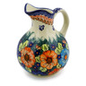 44 oz Stoneware Pitcher - Polmedia Polish Pottery H6498J