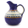 44 oz Stoneware Pitcher - Polmedia Polish Pottery H9136I