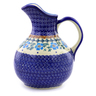 44 oz Stoneware Pitcher - Polmedia Polish Pottery H9175I