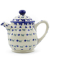 46 oz Stoneware Tea or Coffee Pot - Polmedia Polish Pottery H4272J