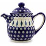 46 oz Stoneware Tea or Coffee Pot - Polmedia Polish Pottery H7066I