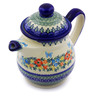 46 oz Stoneware Tea or Coffee Pot - Polmedia Polish Pottery H7078I