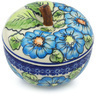 5-inch Stoneware Apple Shaped Jar - Polmedia Polish Pottery H1273H