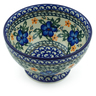 5-inch Stoneware Bowl with Pedestal - Polmedia Polish Pottery H5940B