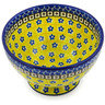 5-inch Stoneware Bowl with Pedestal - Polmedia Polish Pottery H6338B