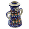 5-inch Stoneware Candle Holder - Polmedia Polish Pottery H0400B