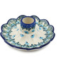 5-inch Stoneware Candle Holder - Polmedia Polish Pottery H0886I